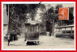 62 - Le TOUQUET - PARIS PLAGE --  Le Tramway Au Carrefour De L'Hermitage - Le Touquet