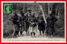 62 - Le TOUQUET - PARIS PLAGE --  Types De Pêcheurs Et Pêcheuses De Crevettes - Le Touquet