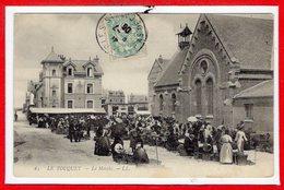 62 - Le TOUQUET - PARIS PLAGE --  Le Marché - Le Touquet