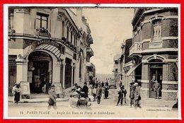 62 - Le TOUQUET - PARIS PLAGE --  Angle Des Rues De Paris Et St Louis - Le Touquet