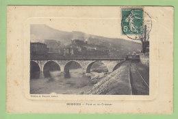 BESSEGES : Pont Vue Du Crassier. 2 Scans. Edition Fesquet - Bessèges