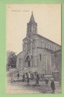 BESSEGES : L'Eglise ( Groupe D'Enfants ). 2 Scans. Edition Gascuel - Bessèges