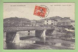 BESSEGES : Pont De La Gare. Oblitération Ambulant Bessèges à Robiac . 2 Scans. Edition Coutarel - Bessèges