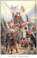 [DC3174] CPA - MILITARI - A PAUL DEROULEDE STATUE MONUMENT - Non Viaggiata - Old Postcard - Patrióticos