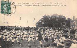 08-SAINT-WALFROY- FËTES DE LA BIENHEUREUSE JEANNE D'ARC AU FESTIVAL MOVTS DE LA F.G.S.P.F (CACHETS PHILATILIQUES) - Sonstige Gemeinden