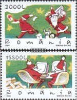 Romania 5698-5699 (complete.issue.) Unmounted Mint / Never Hinged  2002 Christmas - Nuovi
