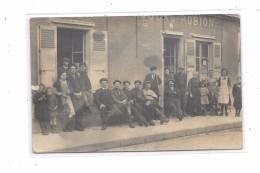 Carte Photo à Localiser : Café, Billards, ..... ROBION - Cartes Postales