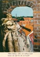 1 AK Schweden * Ystad Tornväktaren - Der Turmwächter In Ystad Gibt Sein Signal * - Svezia