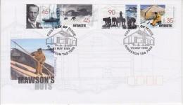 AAT 1999 Mawson´s Hut Restoration 4v FDC  (31789) - FDC