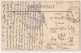 OSSUN PONTACQ Basses Pyrénées, CENTRE DE REEDUCATION. Peu Commun ! - Guerre De 1914-18
