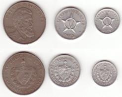 Cuba, 3 Coins - Cuba