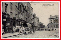 62 - BOULOGNE Sur MER -- Place Godefroy De Bouillon - Boulogne Sur Mer