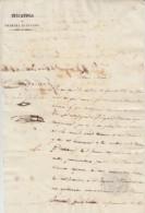E128 ESPAÑA SPAIN CUBA 1837 SIGNED DOC MARQUEZ DE CASA NUÑEZ DEL VILLAR - Autographs