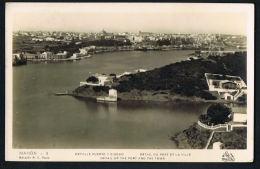 ESPANA - MAHON -ISLAS BALEARES - Detalle Puerto Y Ciudad - Voyagée 1933 -  Recto Verso-Paypal Free - Espagne