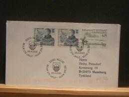 61/320  LETTRE GROENLAND - Brieven En Documenten