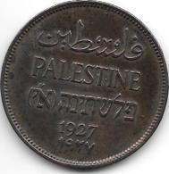 Palestina 2 Mils 1927 Km 2  Xf+ !!!!!  Catalog Val 30,00$ - Monnaies