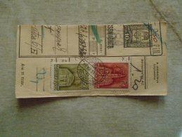 D138746 Hungary  Parcel Post Receipt 1939 BONYHÁD - Postpaketten