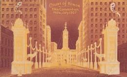 Etats-Unis - Philadelphia - Carte Gaufrée - Philadelphia Convention July 1907 - Philadelphia
