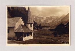AK FL STEG Ges Triesenberg 30.12.1934 Foto A. Buck Schaan - Liechtenstein