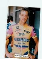 Mark SOUTHARD  , 1992 . 2 Scans. Lire Descriptif. Cyclisme. Spago - Cyclisme