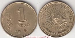 Argentina 1 Peso 1975 KM#69 - Used - Argentina