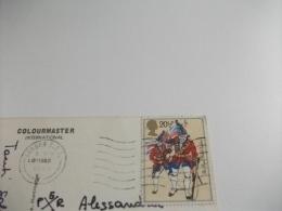 STORIA POSTALE FRANCOBOLLO COMMEMORATIVO MILITARI IN DIVISA  U.K. LONDON PICCADILLY CIRCUS - Piccadilly Circus
