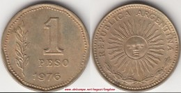 Argentina 1 Peso 1976 KM#69 - Used - Argentina