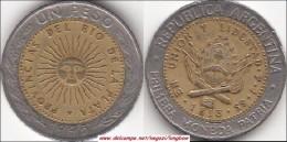 Argentina 1 Peso 1995 KM#112.1 - Used - Argentina