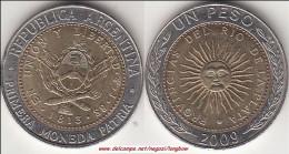 Argentina 1 Peso 2009 KM#112.1 - Used - Argentina