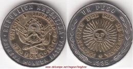 Argentina 1 Peso 1995 KM#112.2 - Used - Argentina