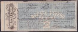 E350 CUBA SPAIN BANK BILL OF EXCHANGE 1871 RAFAEL VIVERO  ESPAÑA - Bills Of Exchange