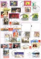 VR 93 LOT BELGIE 1STE DAGSTEMPELS ZIE SCANS - Collections (en Albums)