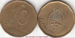 Argentina 10 Centavos 1986 KM#98 - Used - Argentina