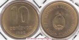 Argentina 10 Centavos 1992 KM#107 - Used - Argentina