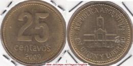 Argentina 25 Centavos 1993 KM#110.a - Used - Argentina