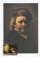 11868 Cyprus, Maximum  2006  Self Portrait Of Rembrandt, Painting Of Rembrandt - Rembrandt