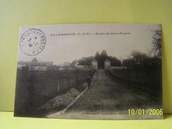 VILLEMAREUIL (SEINE ET MARNE) ROUTE DE SAINT-FIACRE. - Francia