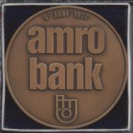 Herdenkingspenning. Integratie Bank Vlaer & Kol / AMRO Bank. 1977. - Obj. 'Herinnering Van'