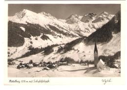 Österreich - Mittelberg Mit Schafalpköpfe - Kleinwalsertal - Kleinwalsertal