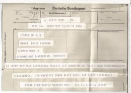 ALEMANIA BONN TELEGRAMA - [7] Federal Republic