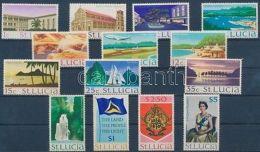 St. Lucia Stamp Definitive Set MNH 1970 Mi 253-266 X WS169582 - Amerika (Varia)