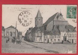 Samer  --  L Eglise Et La Mairie --  Abimée - Samer