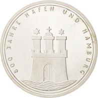 République Fédérale Allemande, 10 Mark, 1989, Hamburg, Germany, Argent, KM... - [10] Commémoratives
