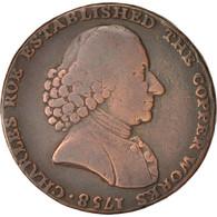 Grande-Bretagne, Token, Macclesfield Halfpenny, 1792, TTB+, Cuivre, 29 - United Kingdom