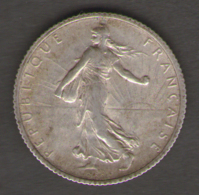 FRANCIA 1 FRANCS 1916 AG SILVER - Francia