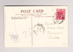 """GB - EXETER 9.10.1905 Ansichtskarte """"New Bridge"""" Nach Schanghai - Lettres & Documents"""
