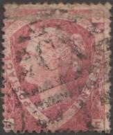 GB 1870 Y&T 52 SG 127 Michel 37. Victoria 1 1/2 P Rouge Carminé, Filigrane Couronne. Planche 3. Lettres ES - 1840-1901 (Victoria)