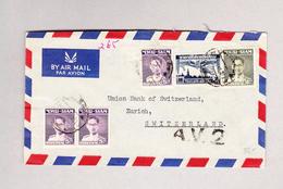 Thailand Luftpostbrief AV2 Nach Zürich - Thaïlande