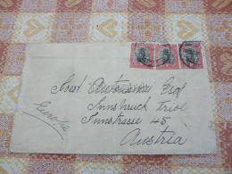 Johannesburg South Arfica Suid Afrika Innsbruck Austria Kuvert Envelope - Afrique Du Sud (1961-...)