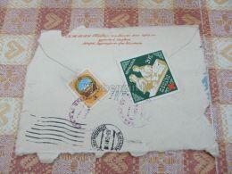 Mongolia Kuvert Envelope - Mongolei
